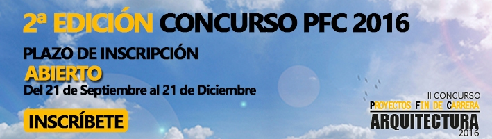 II CONCURSO PROYECTOS FIN DE CARRERA ARQUITECTURA 2016