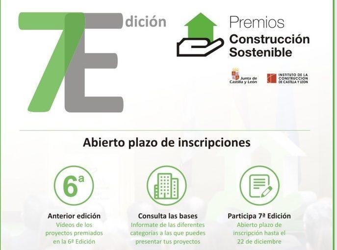 Abierto Plazo Inscripción 7ª Edición Premios Construcción Sostenible CyL