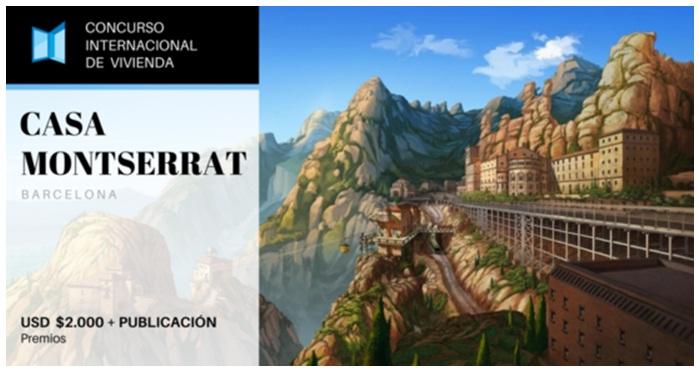 Concurso internacional de vivienda  Casa Montserrat