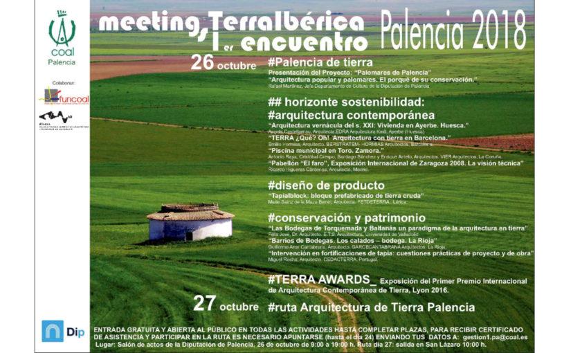 """Meeting/Encuentro """"TERRA IBÉRICA"""" 2018 en Palencia"""