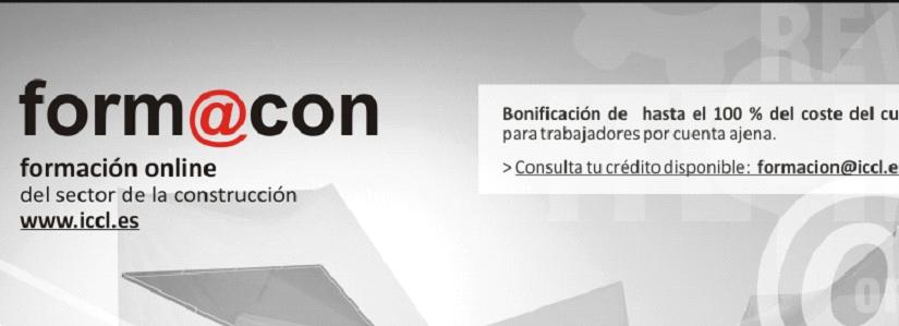 Cursos ICCL Online 100% Bonificables para trabajadores por cuenta ajena