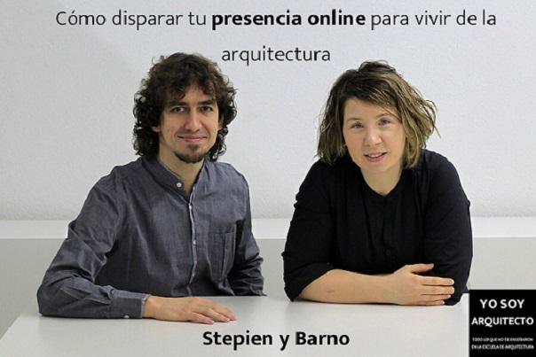 IX Curso Online Identidad Digital para Arquitectos impartido por el estudio de StepienyBarno