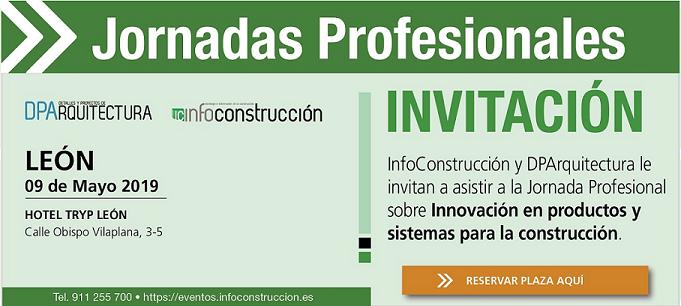 DPArquitectura le invita a la jornada profesional de LEÓN (9-mayo, Hotel Tryp León)