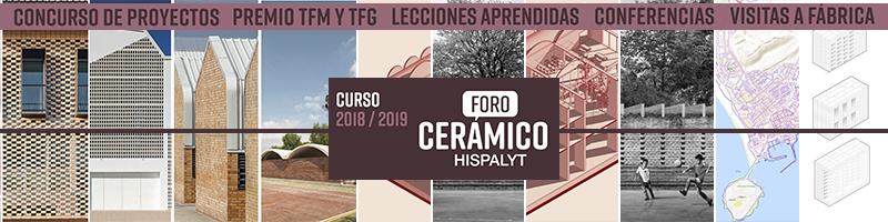Premio Hispalyt Trabajo Fin de Máster y Fin de Grado del Foro Cerámico 2018/2019