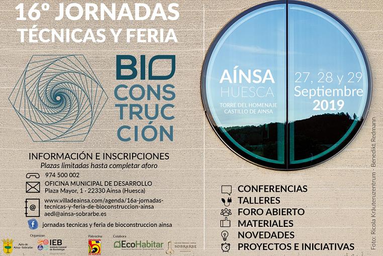 16ª Jornadas Técnicas y Feria de Bioconstrucción Aínsa