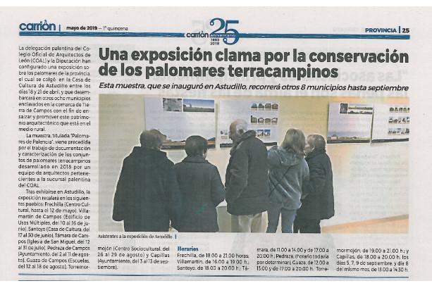 2019-05-02 Periódico El Carrión Palomares de Palencia