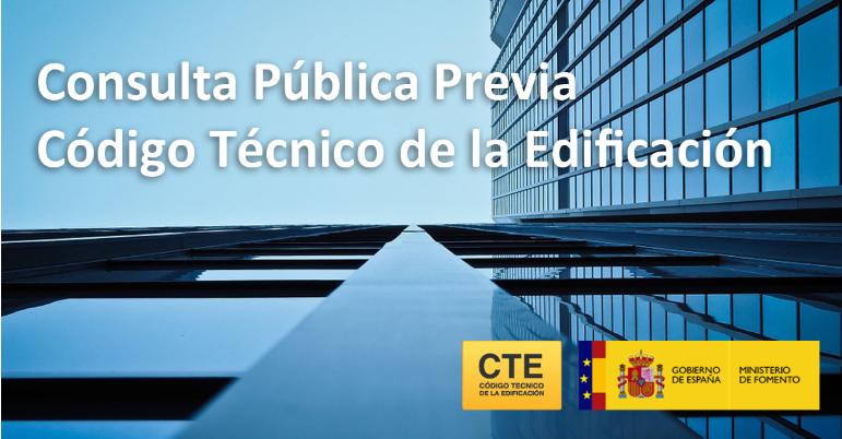 Consulta Pública Previa Código Técnico de la Edificación