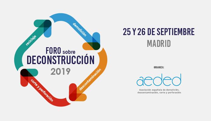 AEDED presenta la próxima edición del Foro sobre deconstrucción