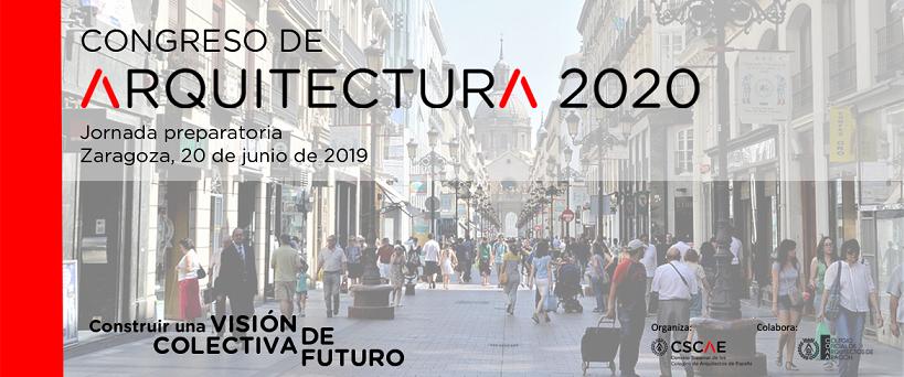 Jornada preparatoria Congreso de Arquitectura 2020