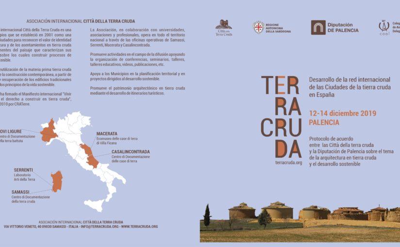 TERRA CRUDA . Desarrollo de la Red Internacional de las Ciudades de la Tierra Cruda en España #palencia