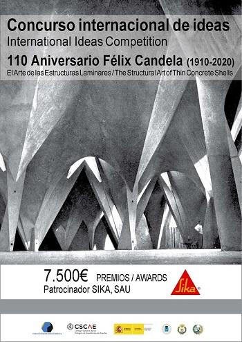 Concurso Internacional de Ideas Félix Candela para estudiantes de arquitectura