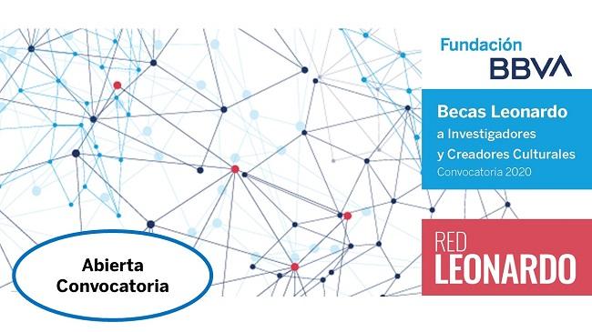 Becas Leonardo a Investigadores y Creadores Culturales. Convocatoria 2020