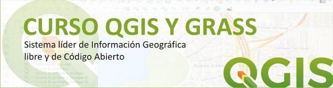 Curso online QGIS y GRASS