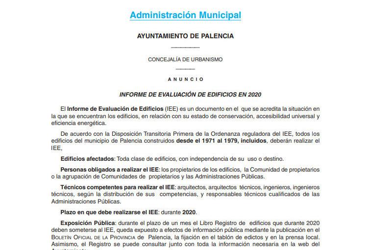 BOP 09-03 INFORME DE EVALUACIÓN DE EDIFICIOS 2020