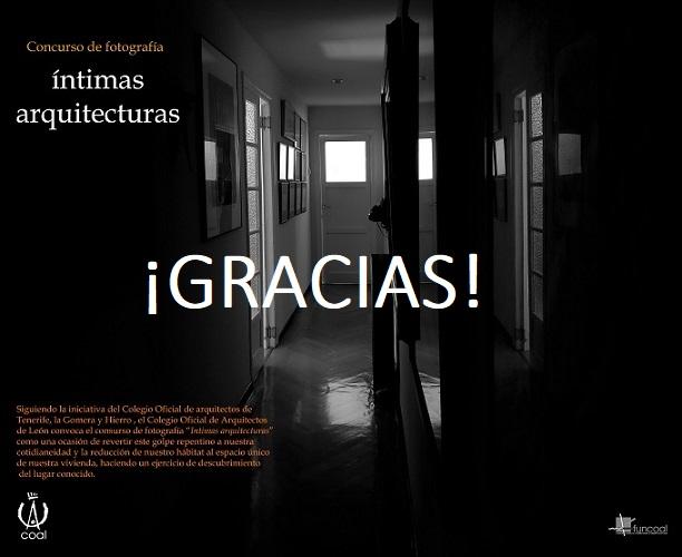 Resultado Concurso de fotografía «íntimas arquitecturas»
