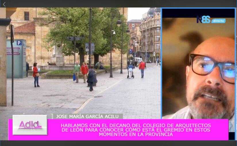 Entrevista a nuestro Decano  Jose Mª García de Acilu