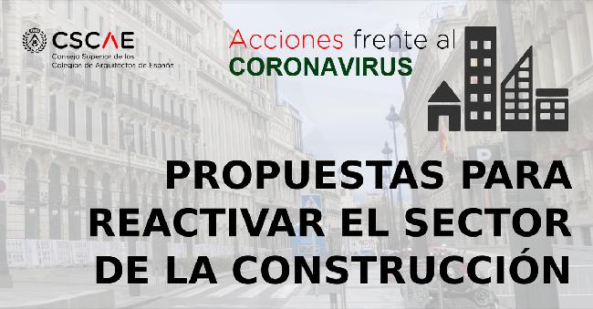 Propuestas para la reactivación del sector de la construcción