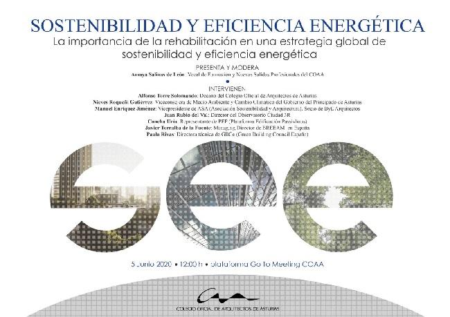 Jornada Online 'La importancia de la rehabilitación en una estrategia global de sostenibilidad y eficiencia energética'