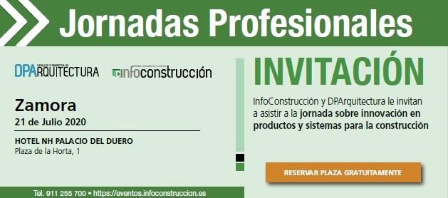 ZAMORA 2020: Jornada Profesional de la Construcción