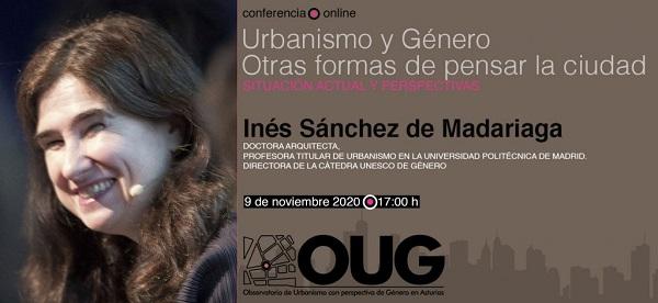 Conferencia del OUG sobre Urbanismo y Género. Otras formas de pensar la ciudad