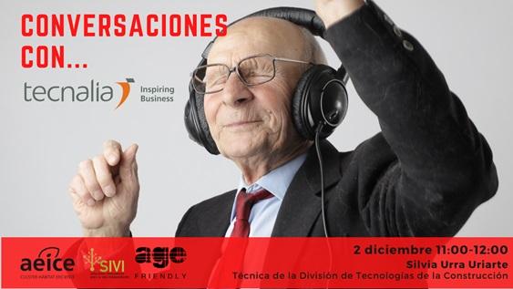 Interclúster AGE Friendly organiza «Conversaciones con Tecnalia»