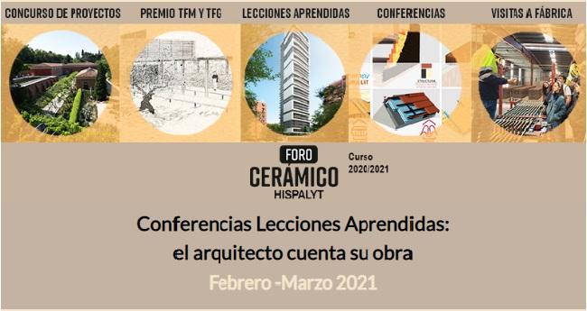 Conferencias Lecciones Aprendidas febrero y marzo 2021