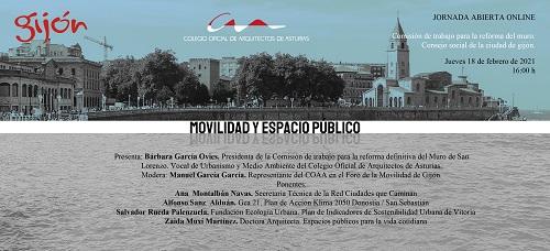 Jornada Movilidad y Espacio Público del COA Asturias