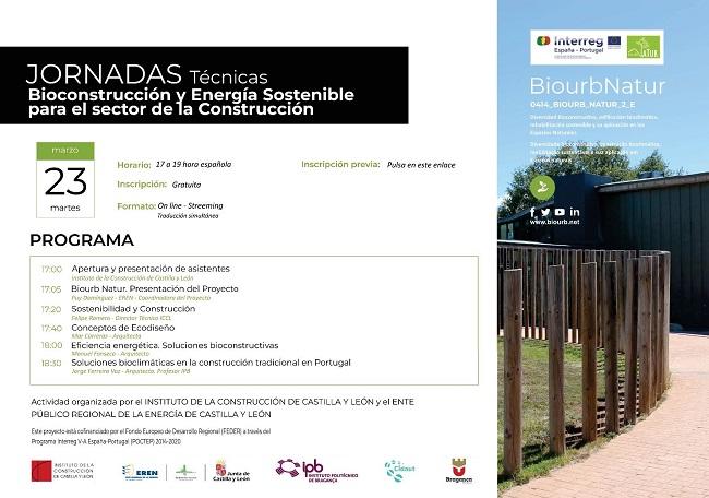 Jornada Técnica Bioconstrucción y Energía Sostenible para el sector de la Construcción