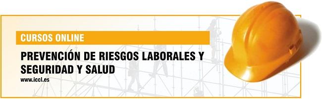 ICCL – Cursos online Prevención de Riesgos Laborales
