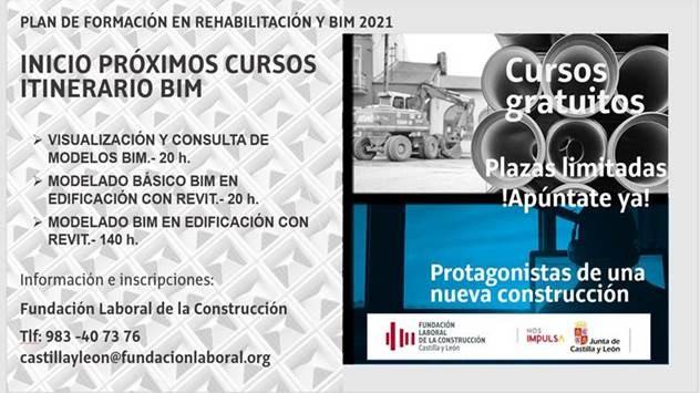 Fundación Laboral de la Construcción_Plan de Formación en Rehabilitación y BIM 2021