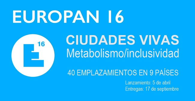 16ª edición del concurso para jóvenes arquitectos EUROPAN