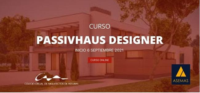 Curso Online del Coa Asturias: Passivhaus Designer