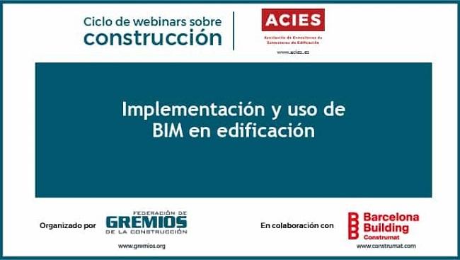 Webinar ACIES_Implementación y uso de BIM en edificación
