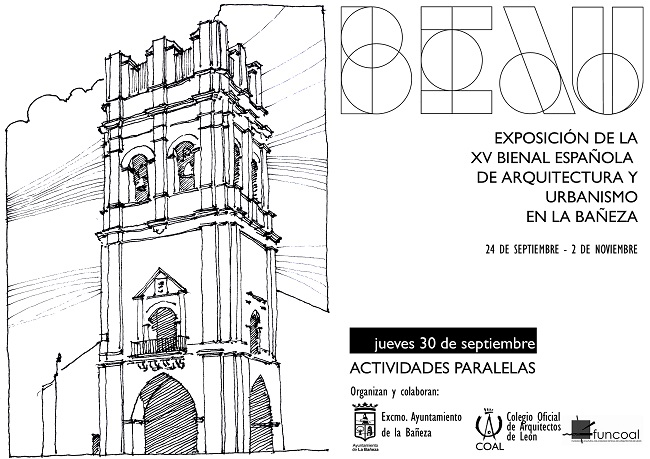 ACTIVIDADES PARALELAS-Exposición de la XV Bienal Española de Arquitectura y Urbanismo en La Bañeza