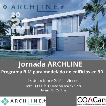 ARCHLINE – Programa BIM – Modelado de edificios en 3D