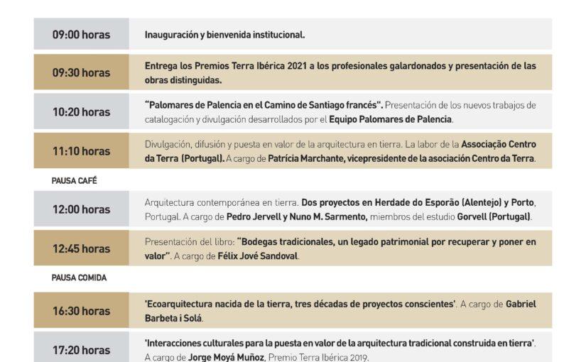 Programa IV Meeting Terra Ibérica – 22 y 23 de Octubre Palencia